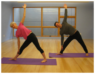 Yoga for all ages and at your own pace.